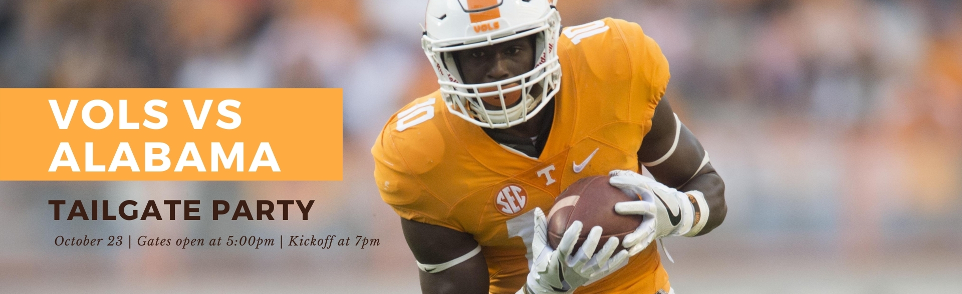 Vols Tailgate Party